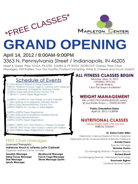 grand opening flyer   templates   word excel