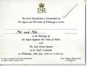 royal wedding invitation wedding invitation watcher prince william and kate middleton invitations