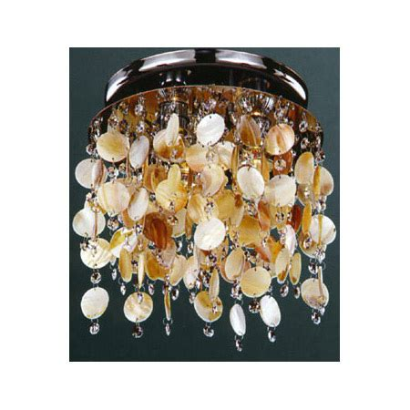 Glow Lighting 578SC3LSP 9C Crystal Seaside Dreams Ceiling