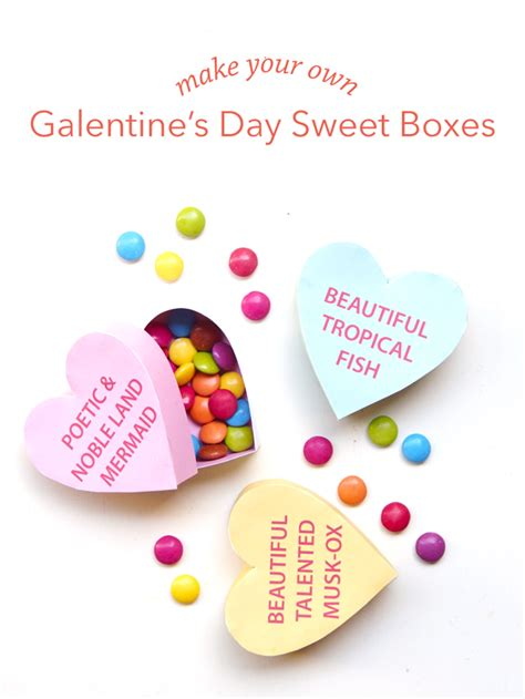 Galentine's Day Sweet Boxes | paperandpin.com | Happy ...