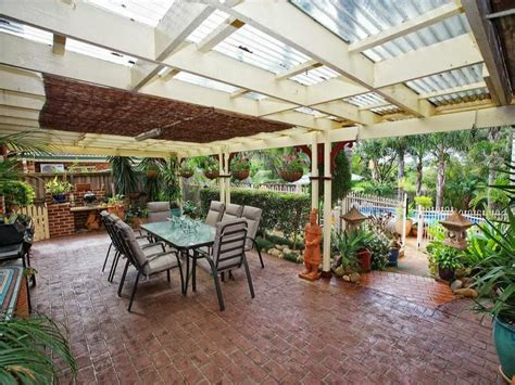 outdoor area design ideas outdoor living design with bbq area from a real australian home outdoor living photo 489038