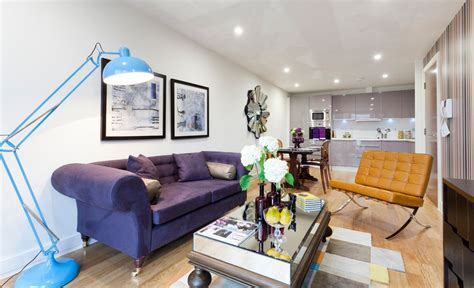 Living Room With Purple Sofa by How To Match A Purple Sofa To Your Living Room Dcor Navy
