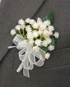 baby s breath bouquets grooms ivory gypsophila babies breath buttonhole 39 s