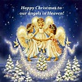 Merry Christmas to Angels   Angels   Pinterest   Angel