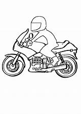 Colouring Motorbike Coloring Bike Motor Pages Kidspot Activities sketch template