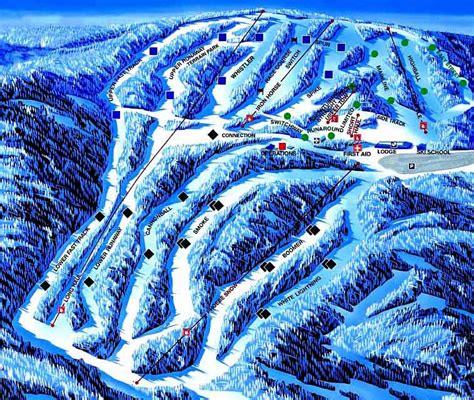 Montage Mountain trail map, Montage Mountain ski map ...