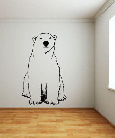 vinyl wall decal sticker polar bear osmb