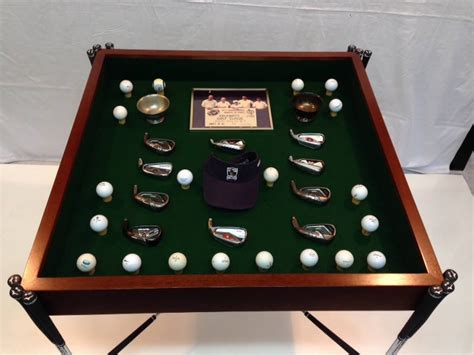 hand  golf club table  designers furniture