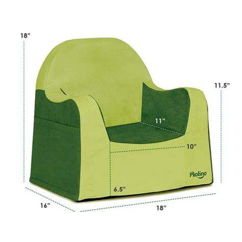 pkolino reader chair cover p kolino reader toddler chair with green cover a