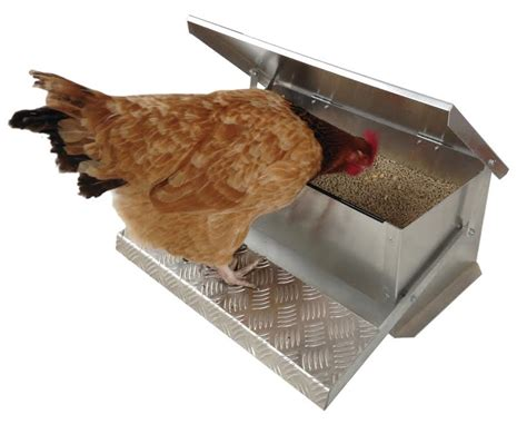Chicken Feeders Nz by Appletons Step On Feeder Appletons Animal Housing And