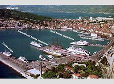 Finding Your Way Around Split Ferry Port Split Croatia
