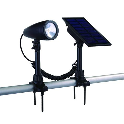 solar outdoor led flag light adjustable wall mounted flag