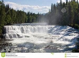 Wide, Waterfall, Stock, Image, Image, Of, White, Dawson, Forest
