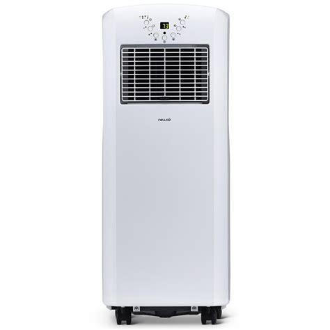 newair portable air conditioner  btu easy setup window venting kit white ebay