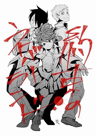 Neverland Promised Ray Norman Anime Manga Emma