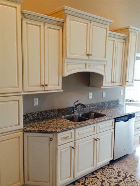 Madison White Kitchen Cabinets Design  Traditional