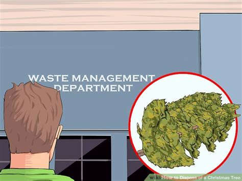 waste management christmas trees 3 ways to dispose of a tree wikihow