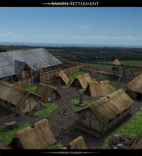 Saxon Settlement By Merlinsartwork On Deviantart