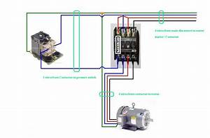 Hyderabad Institute Of Electrical Engineers  Wiring Diagram Of A Motor Starter