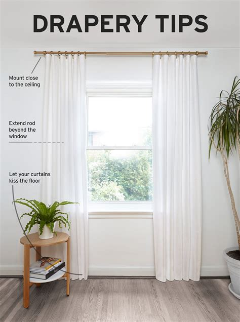 How To Hang A Drapery Rod by We Asked Designer Andrew Pike To His Tips On Hanging
