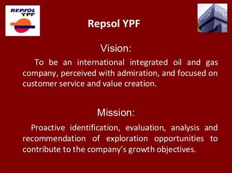 repsol ypf vision