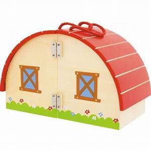 Valise En Bois : jouets des bois valise en bois la ferme ulysse jouets des bois ~ Teatrodelosmanantiales.com Idées de Décoration
