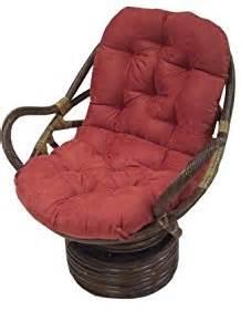 amazon com rattan coil base swivel rocker papasan chair