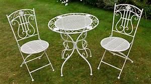 Table Fer Forgé Jardin : table de jardin fer salon de jardin gris maison boncolac ~ Teatrodelosmanantiales.com Idées de Décoration