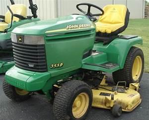 John Deere Lawn Tractor 355d Service Repair Manual