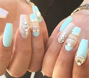 Cool rhinestone nail designs for inspiration sheideas