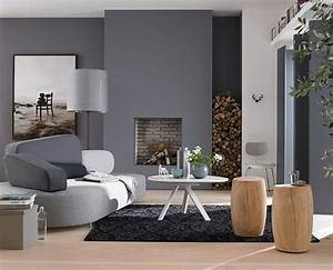 Farbe An Wand : farbe wand wohnzimmer ~ Markanthonyermac.com Haus und Dekorationen