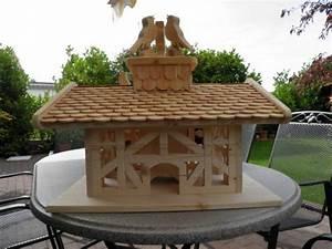 Pfeffermühle Holz Groß : fachwerk vogelhaus mit holz schindeln klein und gro tischlern lesergalerie holzwerken ~ Frokenaadalensverden.com Haus und Dekorationen