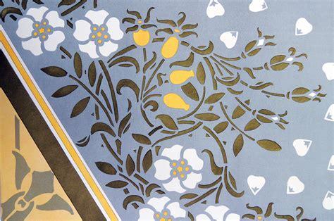 stencil ornamentation graphic arts