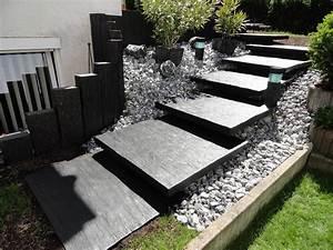 Prix Ardoise Deco Jardin : ardoise pour deco exterieur amenagement terrasse ~ Premium-room.com Idées de Décoration