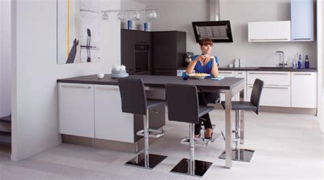 table de cuisine retractable table avec rangement cuisine meuble desserte de cuisine