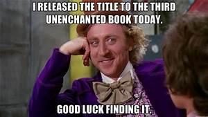 UnEnchanted 3….Title Hunt…Let the games begin.