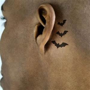 Pics For > Star Tattoos For Men Behind Ear