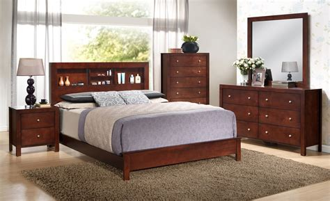 Bookcase In Bedroom by Furniture G2400 Bookcase Headboard Bedroom Set