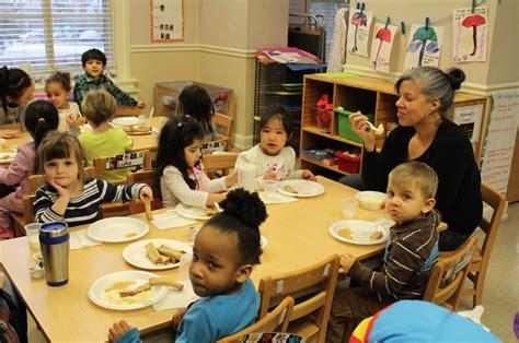 Children Eating Breakfast at School