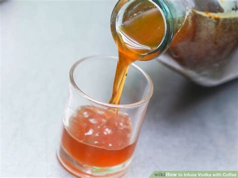 4 Ways To Infuse Vodka With Coffee Coffee Cake Holsum By Anna Olson Vegetable Oil Pumpkin Aman Geometric Glass Tables Top Brisbane Yang Enak Allrecipes