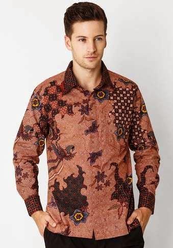 tren batik muslim pria desain terbaru
