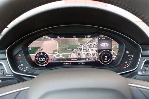 audi  virtual cockpit  mmi  sensational