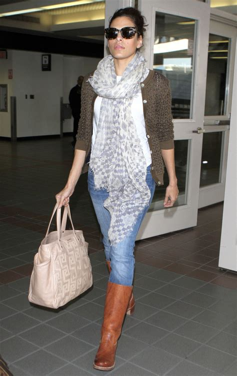 Eva Mendes Knee High Boots - Eva Mendes Boots Looks