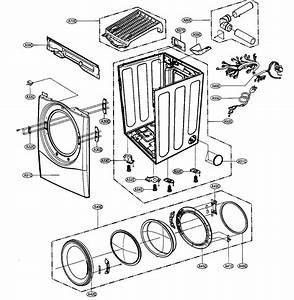 Cabinet   Door Assy Diagram  U0026 Parts List For Model