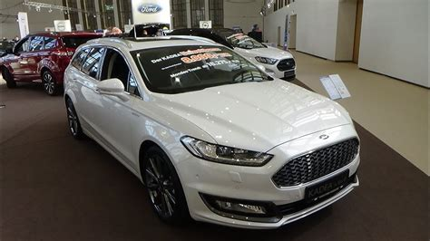 2019 Ford Mondeo Vignale by 2019 Ford Mondeo Vignale 2 0 Tdci 180 Exterior And