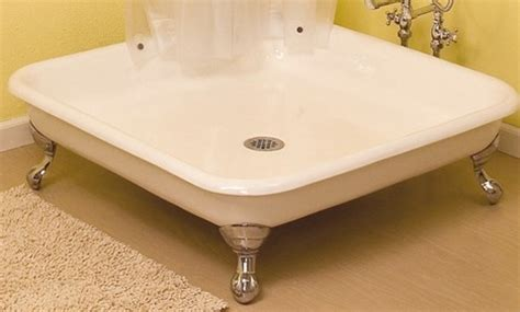 5 Foot Fiberglass Shower by Claw Foot Shower Pan By Strom Plumbing