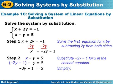 Warm Up Solve Each Equation For X 1 Y = X Y = 3x  4  Ppt Video Online Download