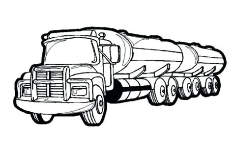 Truck Coloring Pages Pictures Of Trucks To Color Free Fire