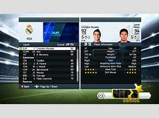 FIFA 14 Ronaldo vs Messi stats YouTube