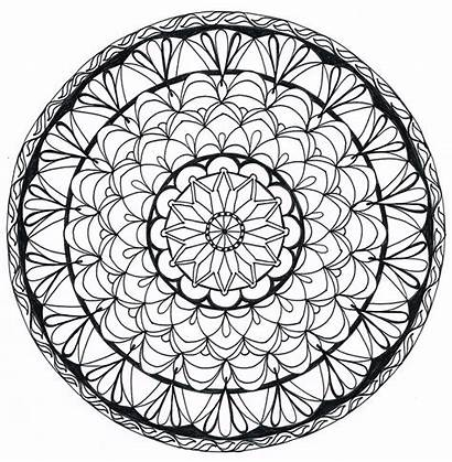 Zentangle Pattern Draw Manala Coloring Patterns Pages